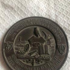 Medallas históricas: MAGNIFICA MEDALLA FERIA DE MUESTRAS LEEDS 1875. Lote 171011210