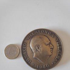 Medallas históricas: MEDALLA IGNACIO VILLALONGA VILLALBA 1940, 50 AÑOS DEL BANCO CENTRAL 1919-1969. Lote 171052329