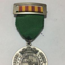 Medallas históricas: MEDALLA Y PIN DE PLATA AL MÉRITO - CÁMARA DE COMERCIO, INDUSTRIA Y NAVEGACIÓN (VALENCIA) 1975. Lote 171113152
