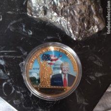 Medallas históricas: MONEDA CONMEMORATIVA DE TRUM. Lote 171774662