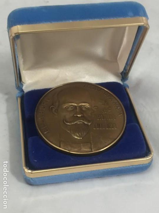 Medallas históricas: Medalla conmemorativa Centenario Ateneo Puertorriqueño 1876 1976 Acosta Tapia Acuña Elzaburu estuche - Foto 2 - 171847904