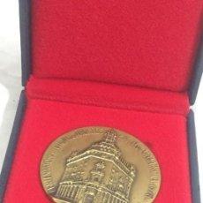 Medallas históricas: MEDALLA CONMEMORATIVA DE BRONCE, CENTENARIO CAJA DE AHORROS DE VALENCIA (1878 - 1978) ESTUCHE ORIGIN. Lote 171889680