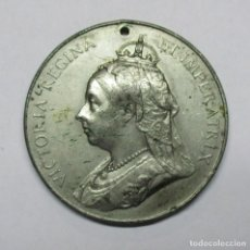 Medallas históricas: GRAN BRETAÑA, 1897. MEDALLA DEL JUBILEO DE DIAMANTE DE LA REINA VICTORIA. LOTE 0082. Lote 172051698