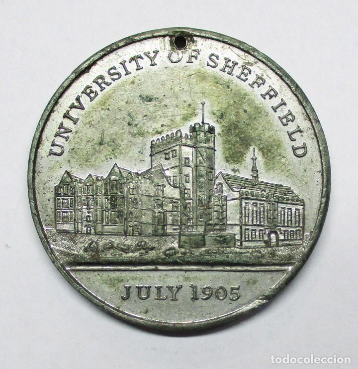 Medallas históricas: GRAN BRETAÑA, 1905. MEDALLA DE LOS REYES EDUARDO VII Y ALEXANDRA DE GRAN BRETAÑA. LOTE 0081 - Foto 2 - 172052352
