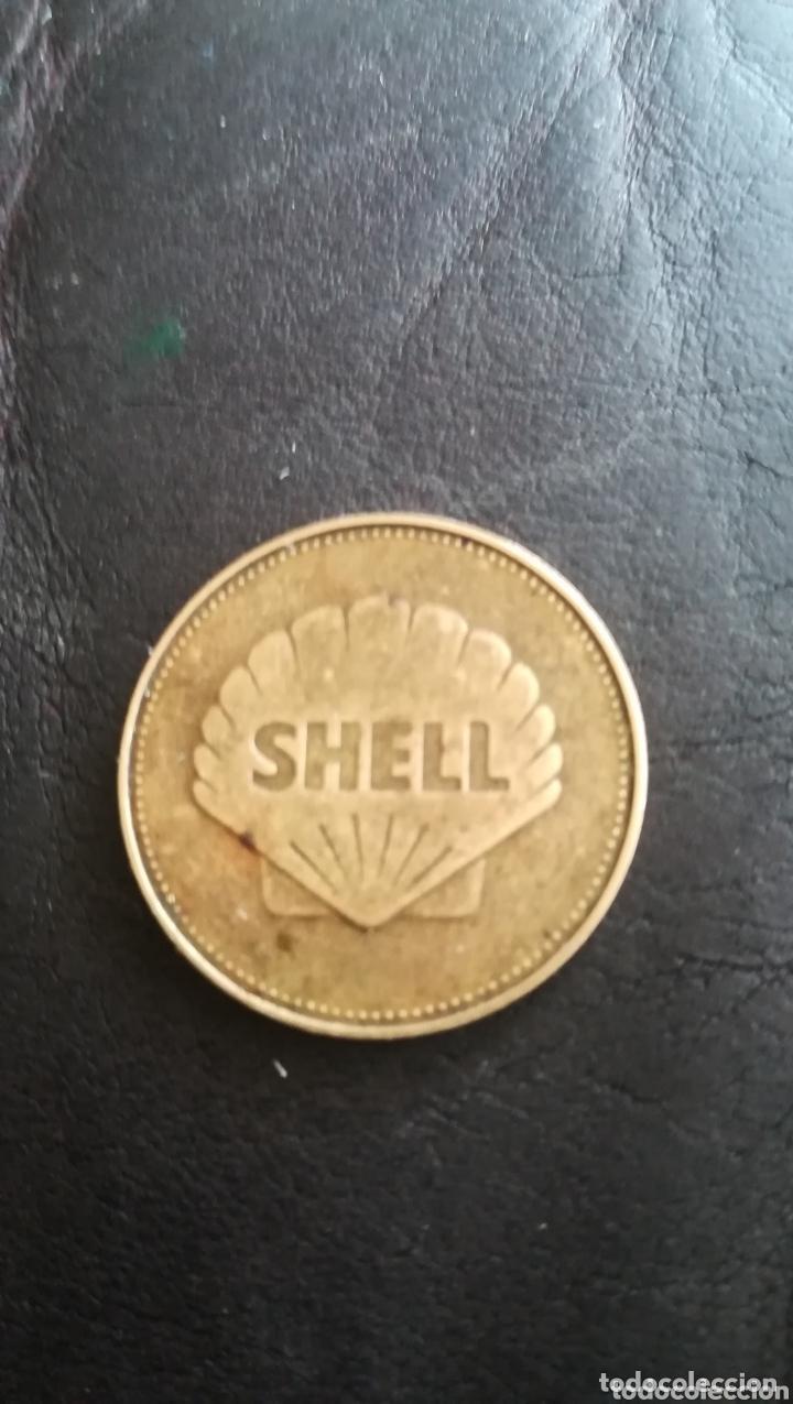 Medallas históricas: Moneda Shell de 1968, conmemorativa, Apolo8 - Foto 2 - 172163839