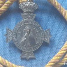 Medallas históricas: ANTIGUA MEDALLA CONMEMORATIVA DE LA REAL ASOCIACION DE MAESTROS DE PRIMERA ENSEÑANZA - MUY RARA. Lote 172451937