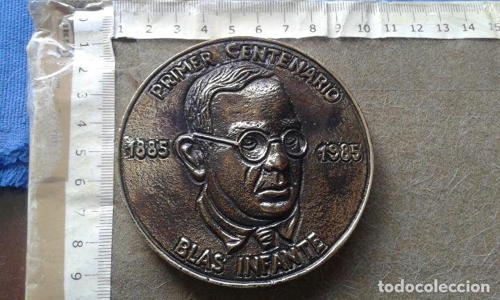 MEDALLA PARTIDO ANDALUCISTA CENTENARIO DE BLAS INFANTE - 1885/1995 - SERIE LIMITADA 1000 - NUMERADA (Numismática - Medallería - Histórica)