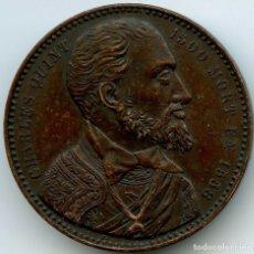 Medallas históricas: MEDALLA DE CARLOS V GRABADOR JOUVENEL 34MM. Lote 173630614