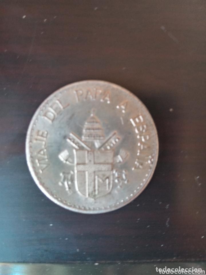 Medallas históricas: Visita de Papa Juan Pablo II a España medalla o moneda conmemorativa plata ? - Foto 2 - 173751830
