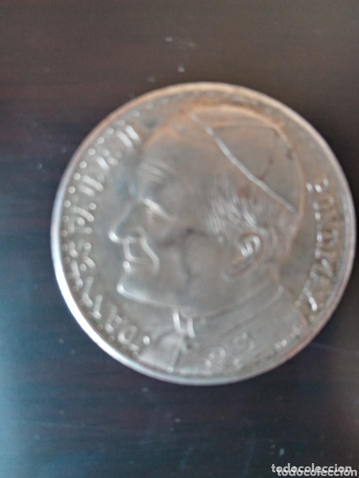 Medallas históricas: Visita de Papa Juan Pablo II a España medalla o moneda conmemorativa plata ? - Foto 4 - 173751830
