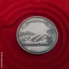 Medallas históricas: MEDALLA PLATA SOCIEDAD ECONÓMICA AMIGOS DEL PAIS DE ASTURIAS. Lote 173903614