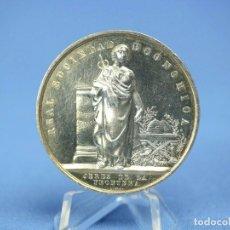 Medallas históricas: RARÍSIMA MEDALLA PLATA ESPAÑA REAL SOCIEDAD ECONÓMICA JEREZ DE LA FRONTERA 42MM 38 GR. Lote 174057529