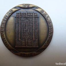 Medallas históricas: MEDALLA DE BRONCE. UNIVERSIDAD DE SALAMANCA 1218 (6 CM DE DIÁMETRO). Lote 174293837