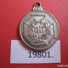 Medallas históricas: MEDALLA ALEMANIA, GUERRA FRANCO PRUSIANA 1870-1871, CONMEMORATIVA. Lote 174342755