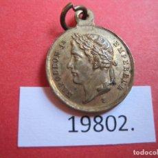 Medallas históricas: MEDALLA FRANCIA TUMBA DE NAPOLEÓN, CONMEMORATIVA. Lote 174342803