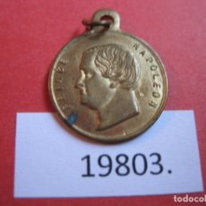 Medallas históricas: MEDALLA FRANCIA PRÍNCIPE NAPOLEÓN, NACIDO EN 1822, SOBRINO DE NAPOLEÓN BONAPARTE, CONMEMORATIVA. Lote 174342897