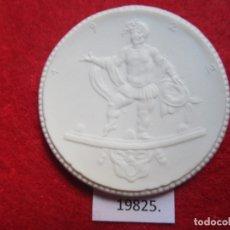 Medallas históricas: MEDALLA DE CERAMICA DE MEISSEN ALEMANIA, 1922, PORCELANA, BISCUIT. Lote 174343005