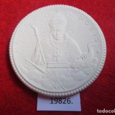 Medallas históricas: MEDALLA DE CERAMICA DE MEISSEN ALEMANIA, 1927, PORCELANA, BISCUIT. Lote 174343028