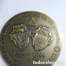 Medallas históricas: MEDALLA BURGOS CAJA DE AHORROS DEL CIRCULO 1999 MEDALLA ORO DE LA PROVINCIA. Lote 174428613