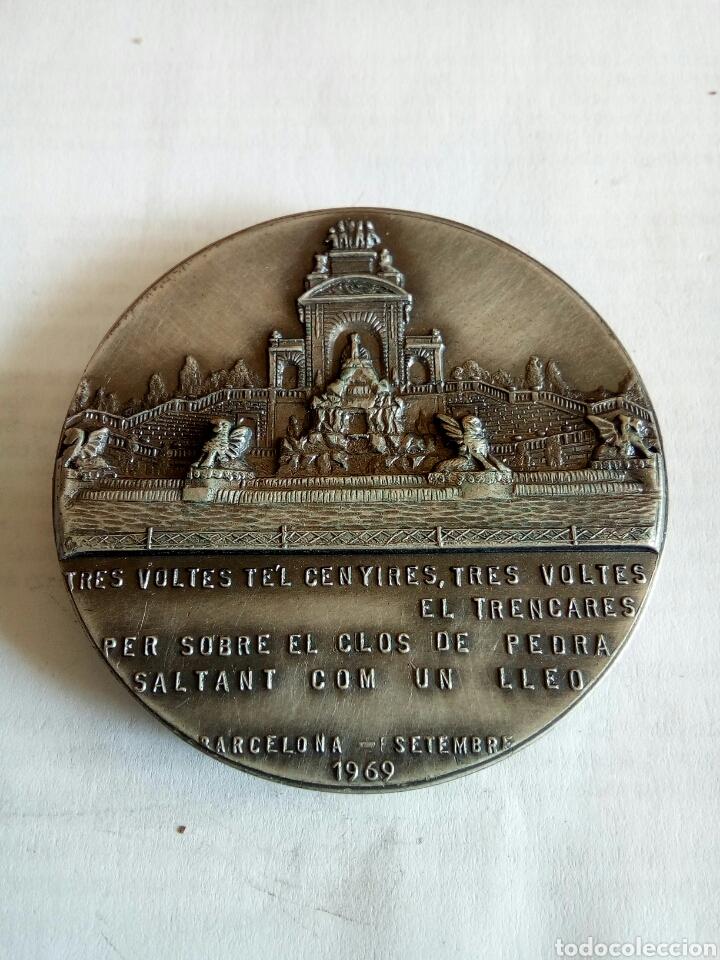 Medallas históricas: MEDALLA DE FRANCESC DE PAULA RIUS I TAULET - Foto 2 - 174508475