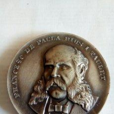 Medallas históricas: MEDALLA DE FRANCESC DE PAULA RIUS I TAULET. Lote 174508475