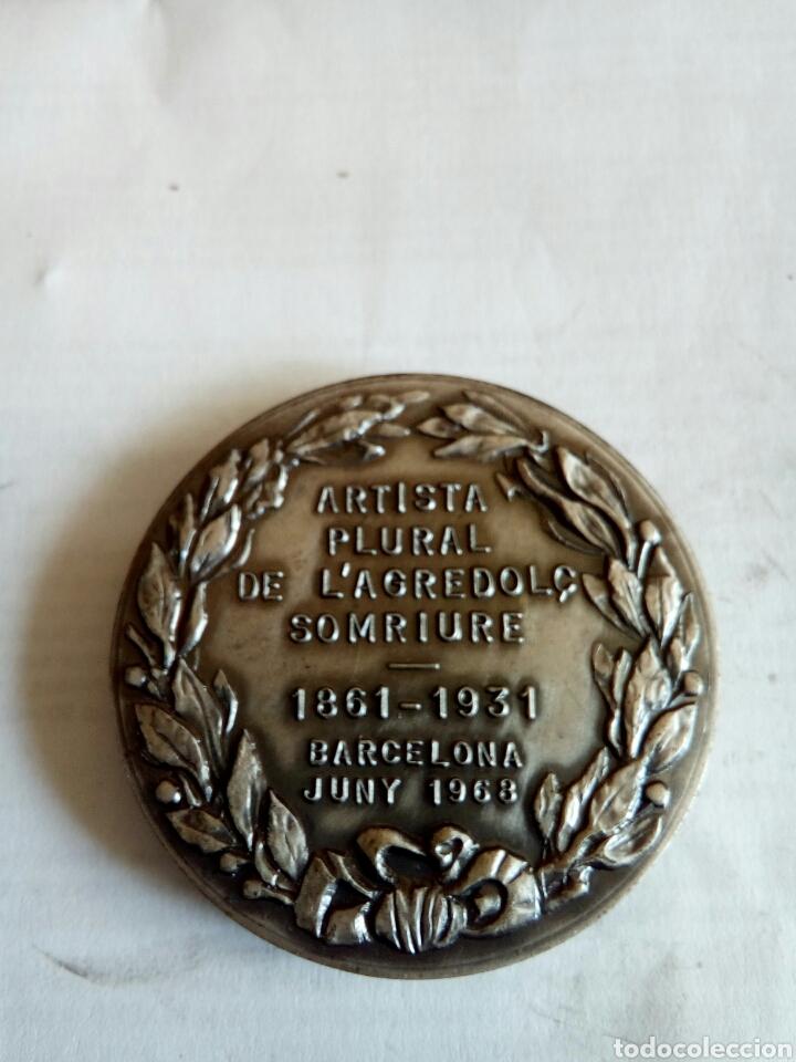 Medallas históricas: MEDALLA SANTIAGO RUSIÑOL - Foto 2 - 174508575