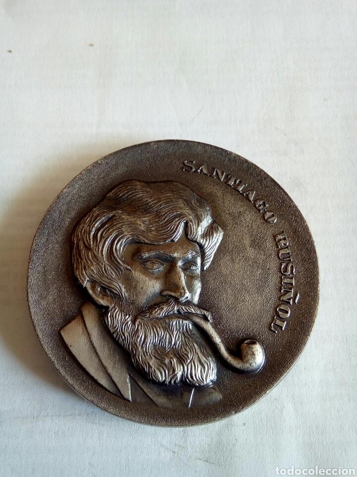 MEDALLA SANTIAGO RUSIÑOL (Numismática - Medallería - Histórica)