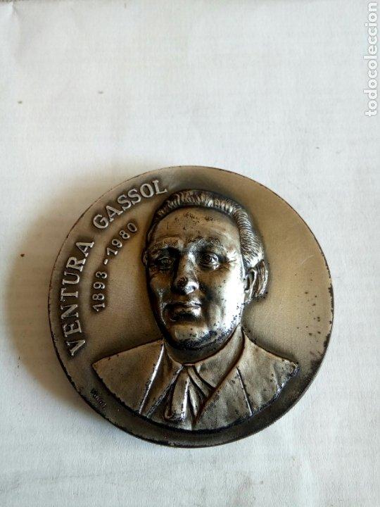 MEDALLA VENTURA GASSOL (Numismática - Medallería - Histórica)