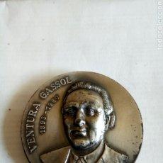Medallas históricas: MEDALLA VENTURA GASSOL. Lote 174508939