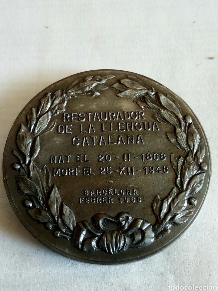 Medallas históricas: MEDALLA POMPEU FABRA - Foto 2 - 174509285