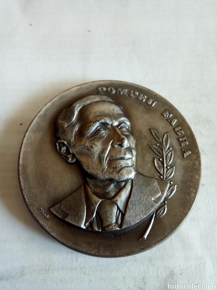 MEDALLA POMPEU FABRA (Numismática - Medallería - Histórica)