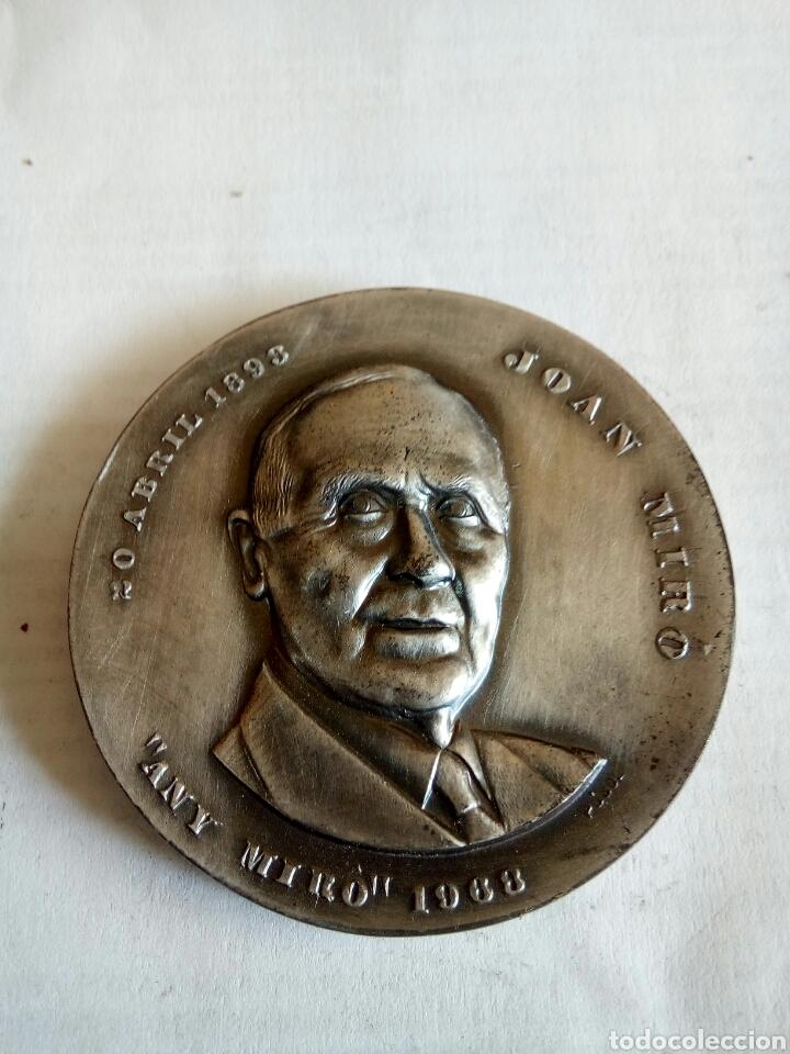 MEDALLA JOAN MIRO (Numismática - Medallería - Histórica)