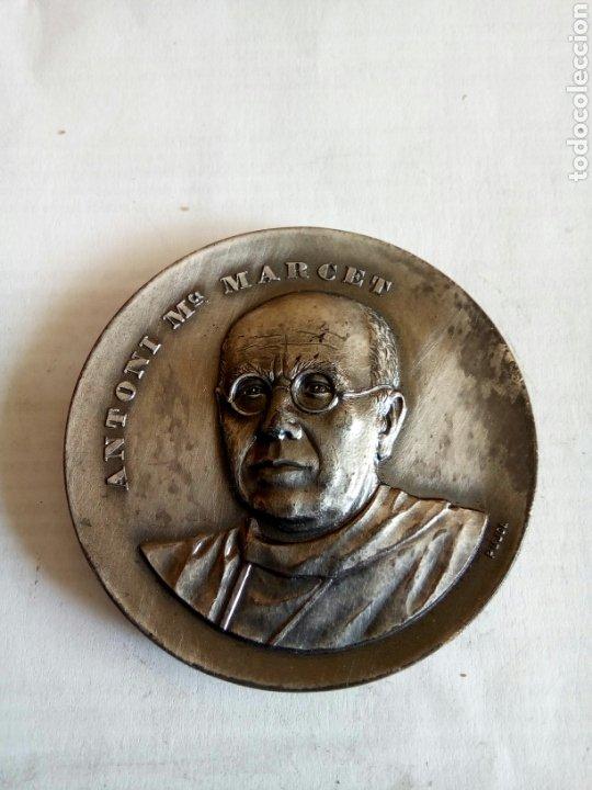 MEDALLA ANTONI M° MARCET (Numismática - Medallería - Histórica)