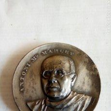 Medallas históricas: MEDALLA ANTONI M° MARCET. Lote 174510193