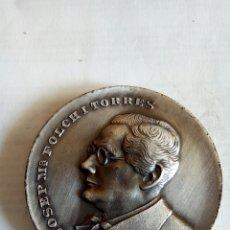 Medallas históricas: MEDALLA JOSEP M° FOLCH I TORRES. Lote 174510628