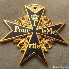 Medallas históricas: MEDALLA I II GUERRA MUNDIAL ORO AZUL REINO UNIDO ALEMÁN ANTIGUO RETRO USA FRANCÉS FRANCIA, REPRODUC. Lote 176556373