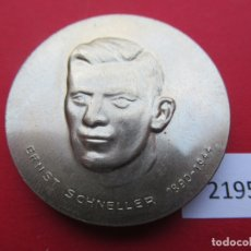 Medallas históricas: FICHA MEDALLA RDA, DDR, ALEMANIA COMUNISTA, ERNST SCHNELLER, TOKEN, JETON. Lote 176951305