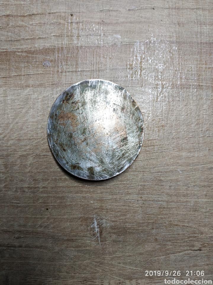 Medallas históricas: Chapa de bronce esmaltada de San Jorge - Foto 2 - 177515824