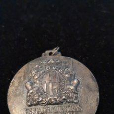 Medallas históricas: MEDALLA PLATA FERIA INTERNACIONAL DEL CINCUENTENARIO FERIA DE MUESTRAS DE BARCELONA 1920-1970. Lote 178045103