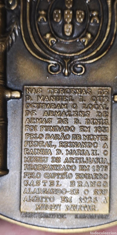 Medallas históricas: Medalla conmemorativa de la reina doña María segunda y Fernando segundo príncipe consorte PortugaL - Foto 3 - 178640461
