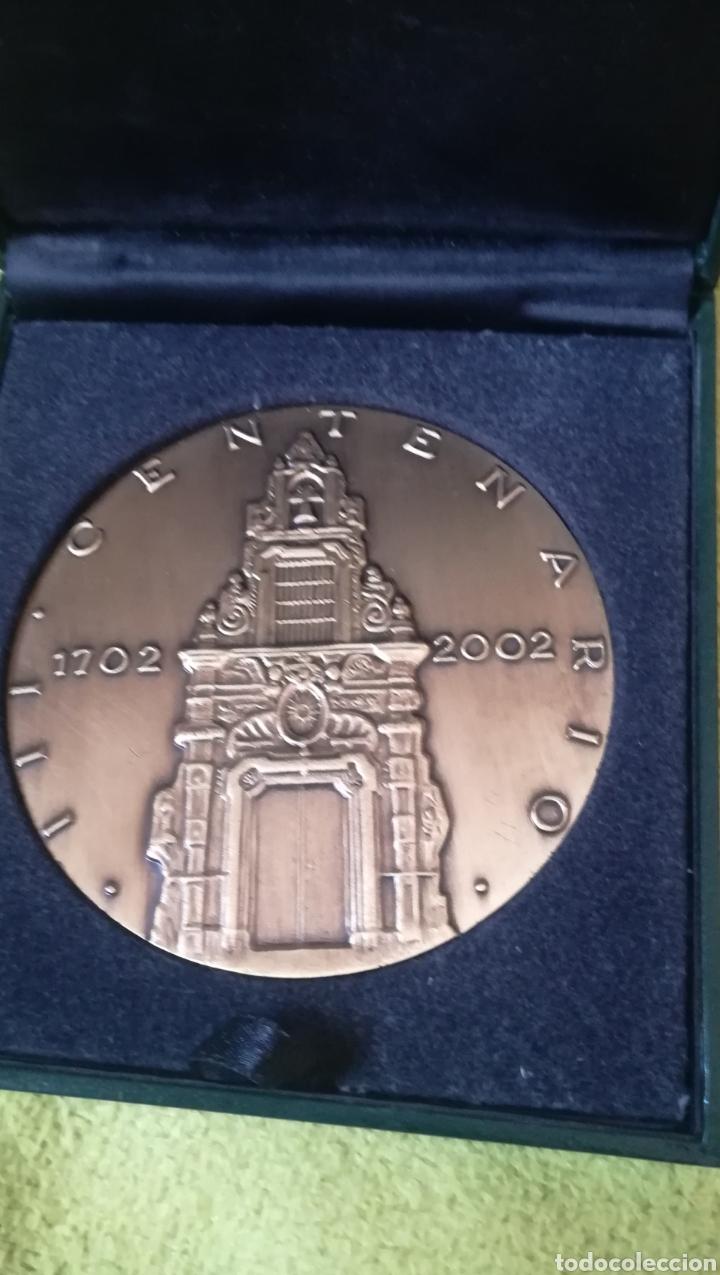 Medallas históricas: Medallon, III Centenario de la Caja de Ahorros y Monte de Piedad de Madrid - Foto 2 - 179006262