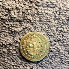 Medallas históricas: INGLATERRA, TOKEN - 1/2 SOBERANO 1869 (CARD GAMING) VF. Lote 179076048