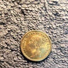 Medallas históricas: INGLATERRA, TOKEN (JETON) - REINA VICTORIA, CORONACION CON DOBLE AGUILA BICEFALA. Lote 179076512