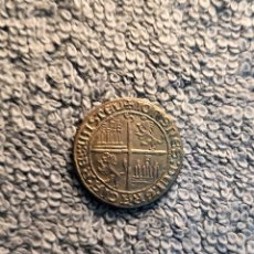 Medallas históricas: ESPAÑA - REPLICA, 1 DOBLE DE BANDA, CASTILLA Y LEON/REINO DE NAPOLES - JUAN II. Lote 179076772