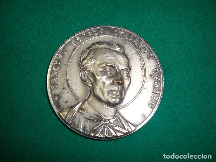 MEDALLA DE SAN PEDRO JULIAN EYMARD , 1962. (Numismática - Medallería - Histórica)