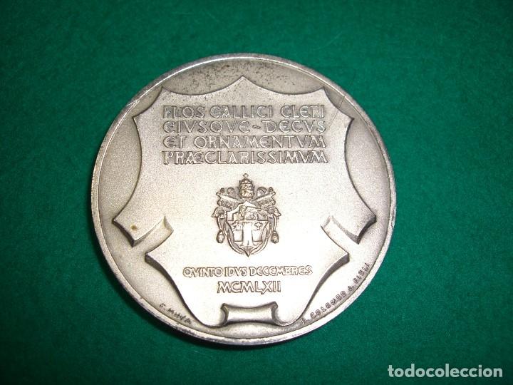 Medallas históricas: MEDALLA DE SAN PEDRO JULIAN EYMARD , 1962. - Foto 2 - 179256200