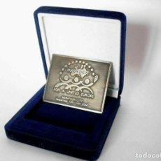 Medallas históricas: MEDALLA DE ESCRITORIO CIUDAD DE MARATÓN POR UNA EUROPA UNIDA, 2008. Lote 179977503