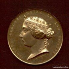 Medallas históricas: ISABEL II - MEDALLA GUERRA DE AFRICA CONTRA MARRUECOS - AÑO 1859 -. Lote 180402480