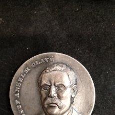 Medallas históricas: MEDALLA JOSEP ANSELM CLAVE. 5CM MEDALLAS PUJOL. Lote 181610811