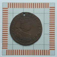 Medallas históricas: JETÓN, CARLOS II. BUREAU DE FINANZAS. AMBERES, 1668. Lote 181775560